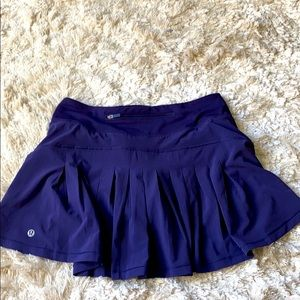 Lululemon tennis skirt size 4 tall